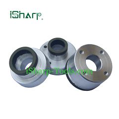 Super abrasives for grinding carbide seal ball