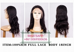 100%VIRGIN HUMAN HAIR WIG