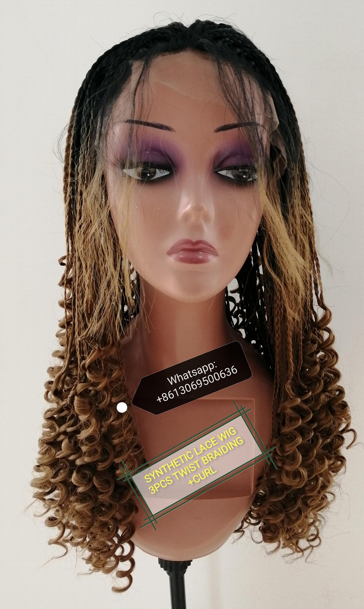 100%SYNTHETIC HAIR WIG 1