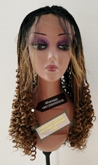 100%SYNTHETIC HAIR WIG