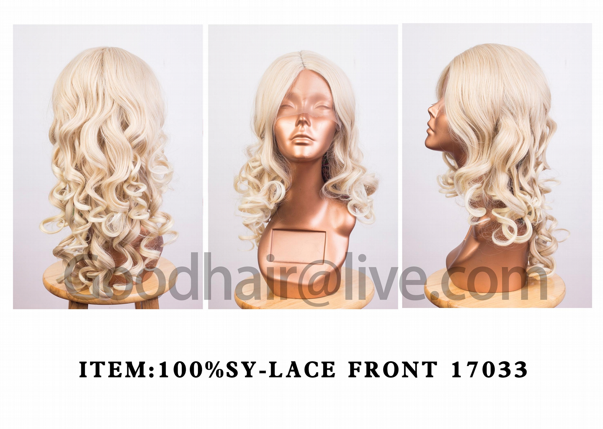 100%SYNTHETIC HAIR WIG 4