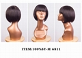 100%SYNTHETIC HAIR WIG 5
