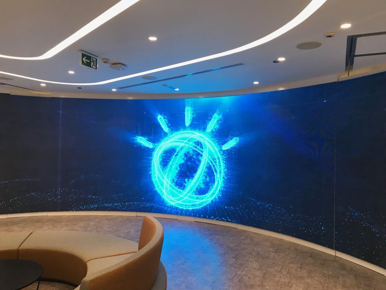 Dot Matrix Display Indoor P3 Advertising LED Display Screen 1