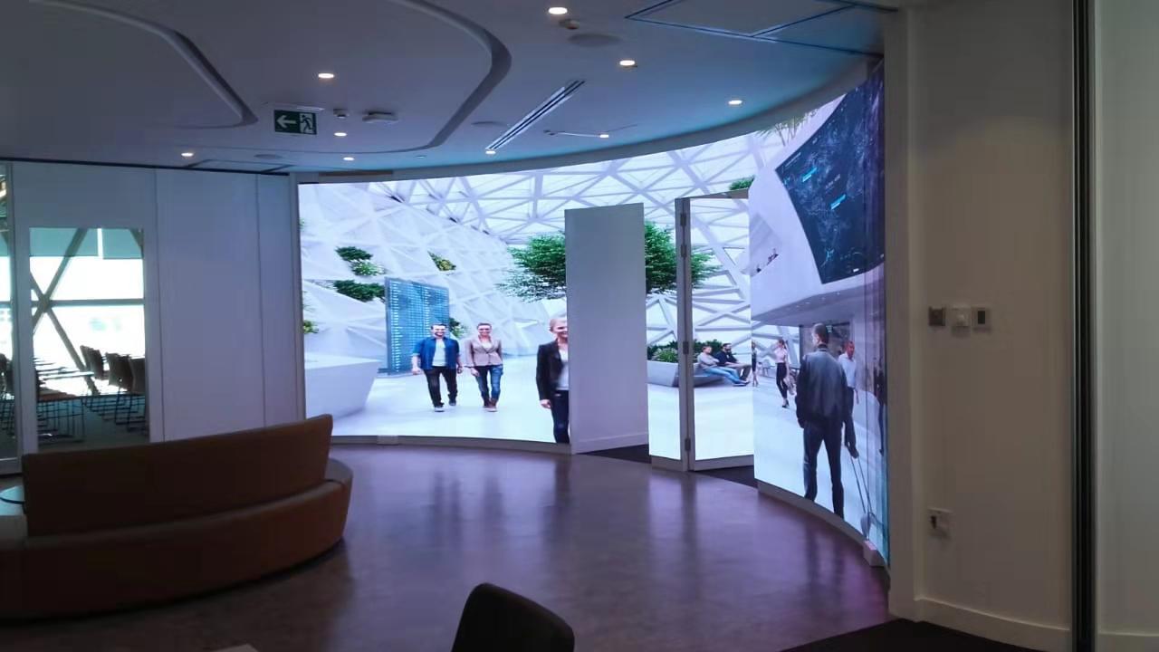 Dot Matrix Display Indoor P3 Advertising LED Display Screen 3