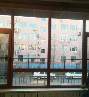 大連平開式斷橋鋁窗戶 1