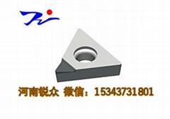 热销可转位数控立方氮化硼CBN标准刀片加工发动机钢件铸铁