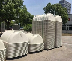 Environmental Protection FRP Septic Tank