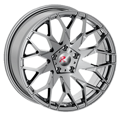 18 inch brushed Silver Matt balck JH-S01 aluminum wheels_ Jihoo Wheels