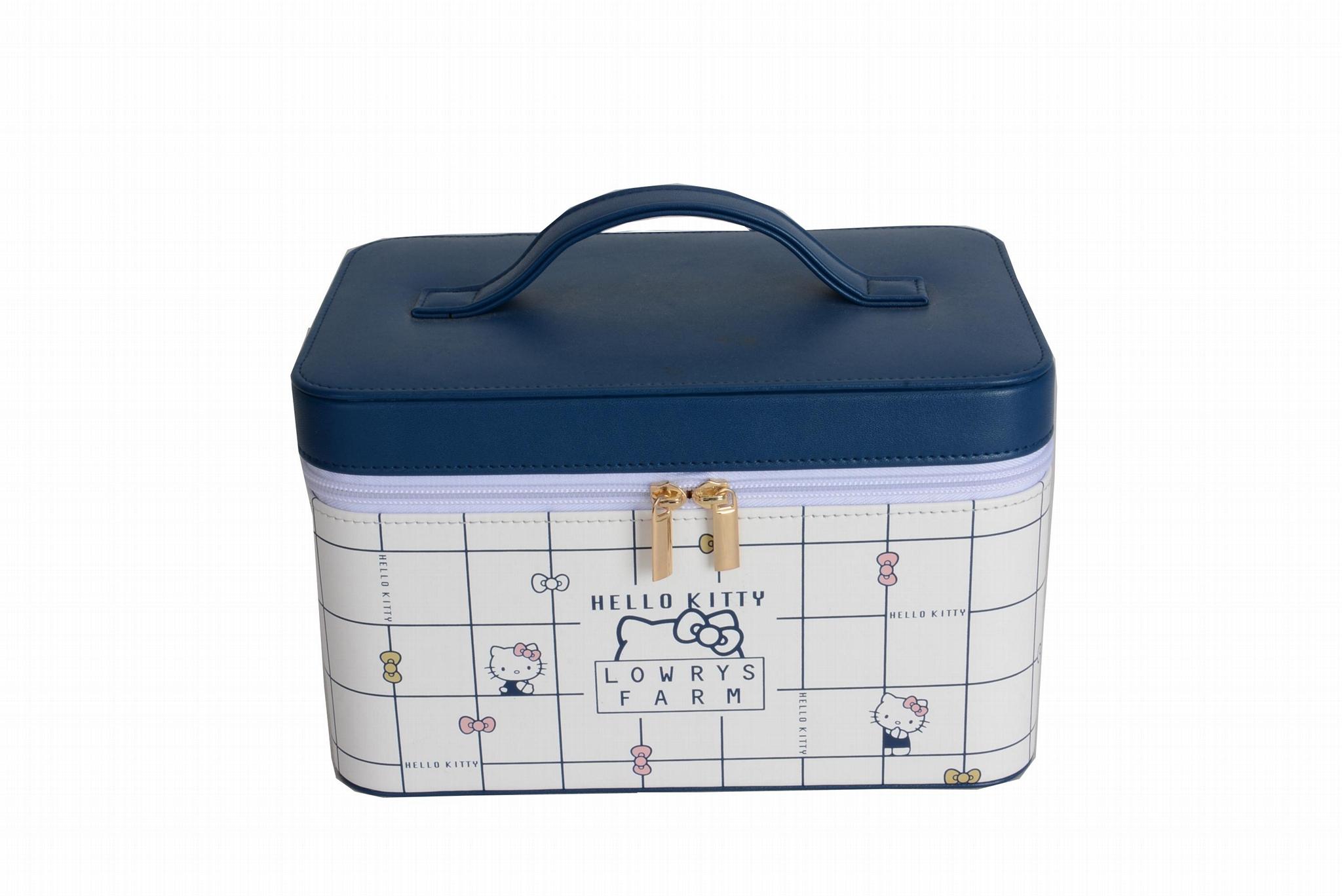 pu硬盒印刷可定製化妝盒 4