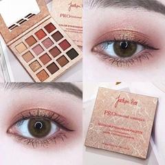 Metallic texture 16 color eyeshadow plate