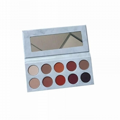 Tasu matte pumpkin mocha ten shades of eye shadow