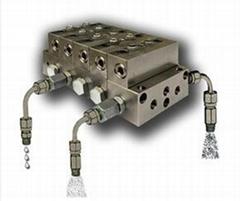意大利油/氣 SMX遞進潤滑分配器
