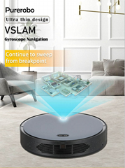 Gyroscope navigation Wet & dry automatic robot vacuum cleaner F8s