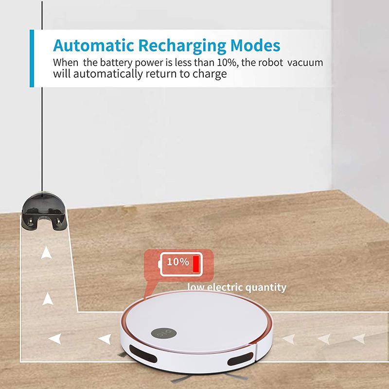 2021年新款基礎款掃地機器人F6自動吸塵器 5