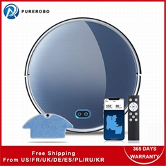 Gyroscope navigation Wet & dry automatic robot vacuum cleaner F8