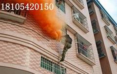 高层建筑消防安全综合火灾演练烟雾罐