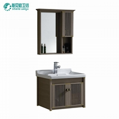 sell competitive price popular  space aluminum profile   bathroom cabinet