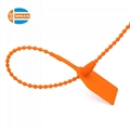 Tamper proof pull tight disposable plastic seals 2