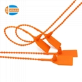 Tamper proof pull tight disposable plastic seals 3