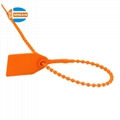 Tamper proof pull tight disposable plastic seals 5