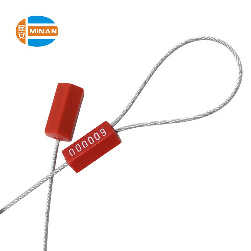 MA-CS 3001 Tamper evident shipping security fixed length cable seal 1