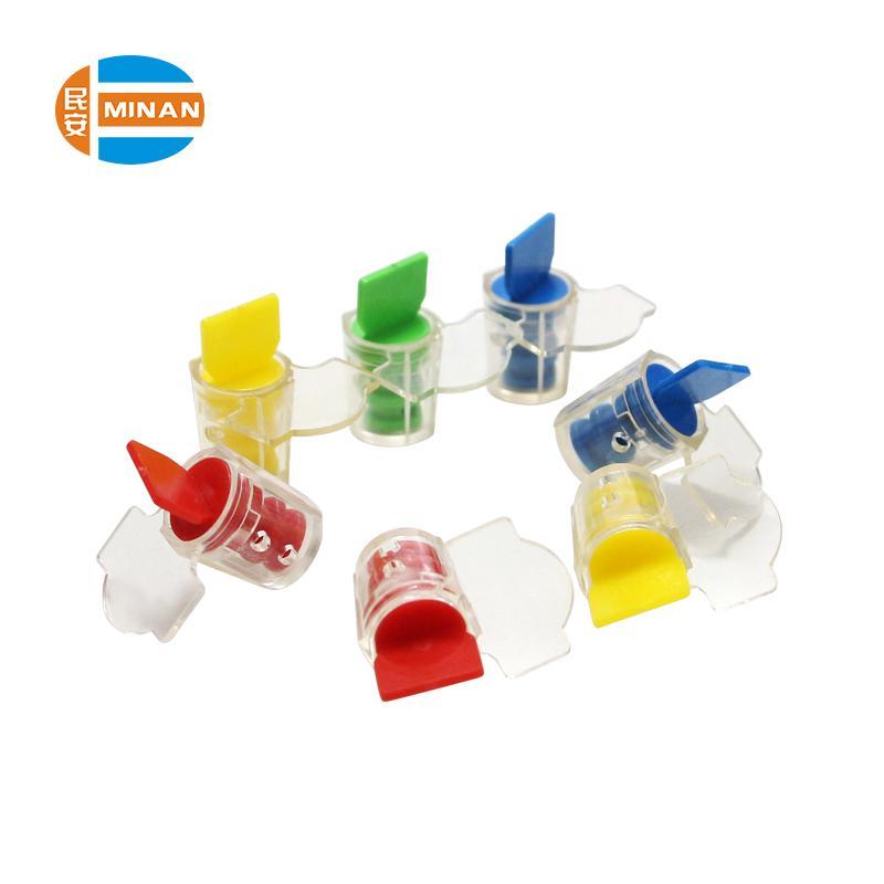 MA - MS 7010  Plastic Twist Tie Security Meter Seal for water electric meter 5
