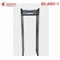 BG-A001 Single zone walk through metal detector