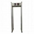 BG-A018 Eighteen zone walk through metal detector