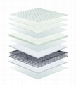 Wholesale can customized Euro top Compressed Spring Mattress  4