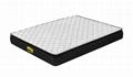 can be customized Knitting fabric pillow top spring mattress 1