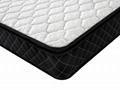 can be customized Knitting fabric pillow top spring mattress 2