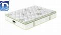 pocket spring latex mattress green tea