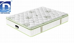 pocket spring latex mattress green tea plant knitted fabric compression mattress
