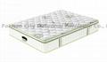 pocket spring latex mattress green tea plant knitted fabric compression mattress 2