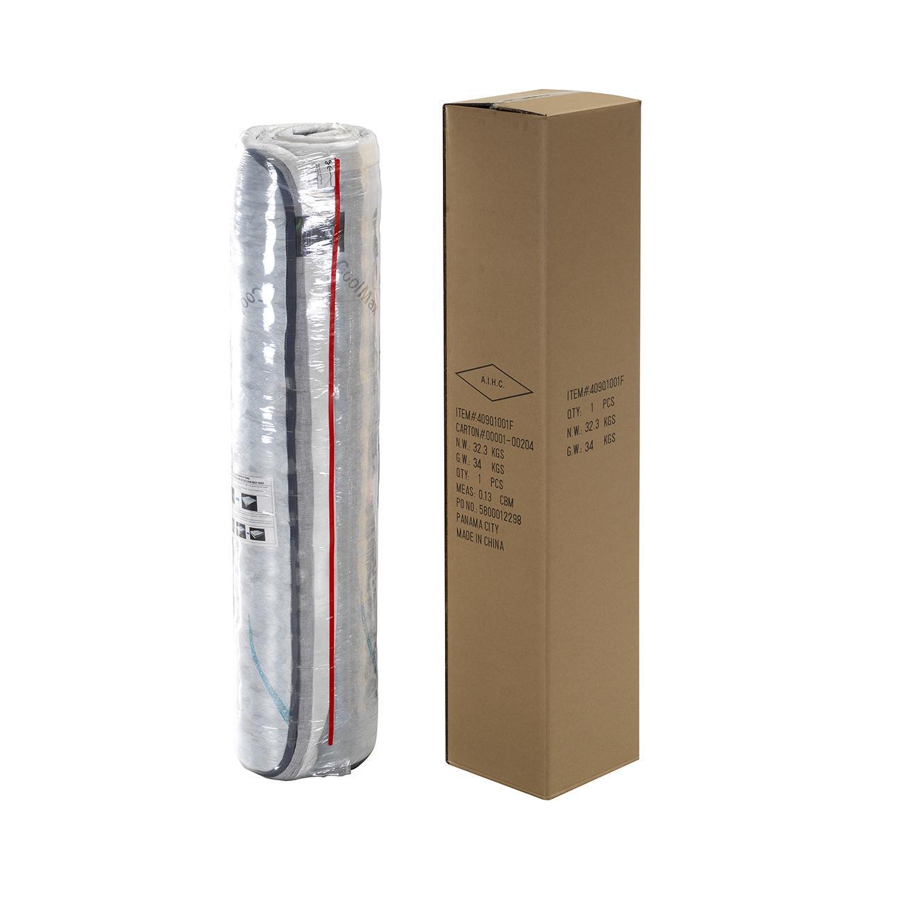 High density foam mattress  rolling compresses packing bed mattress 5