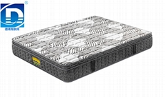 high quality pocket spring memory foam mattress with Euro top