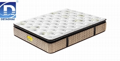 comfortable pillow top bedroom mattress with 3 zone pocket spring unit
