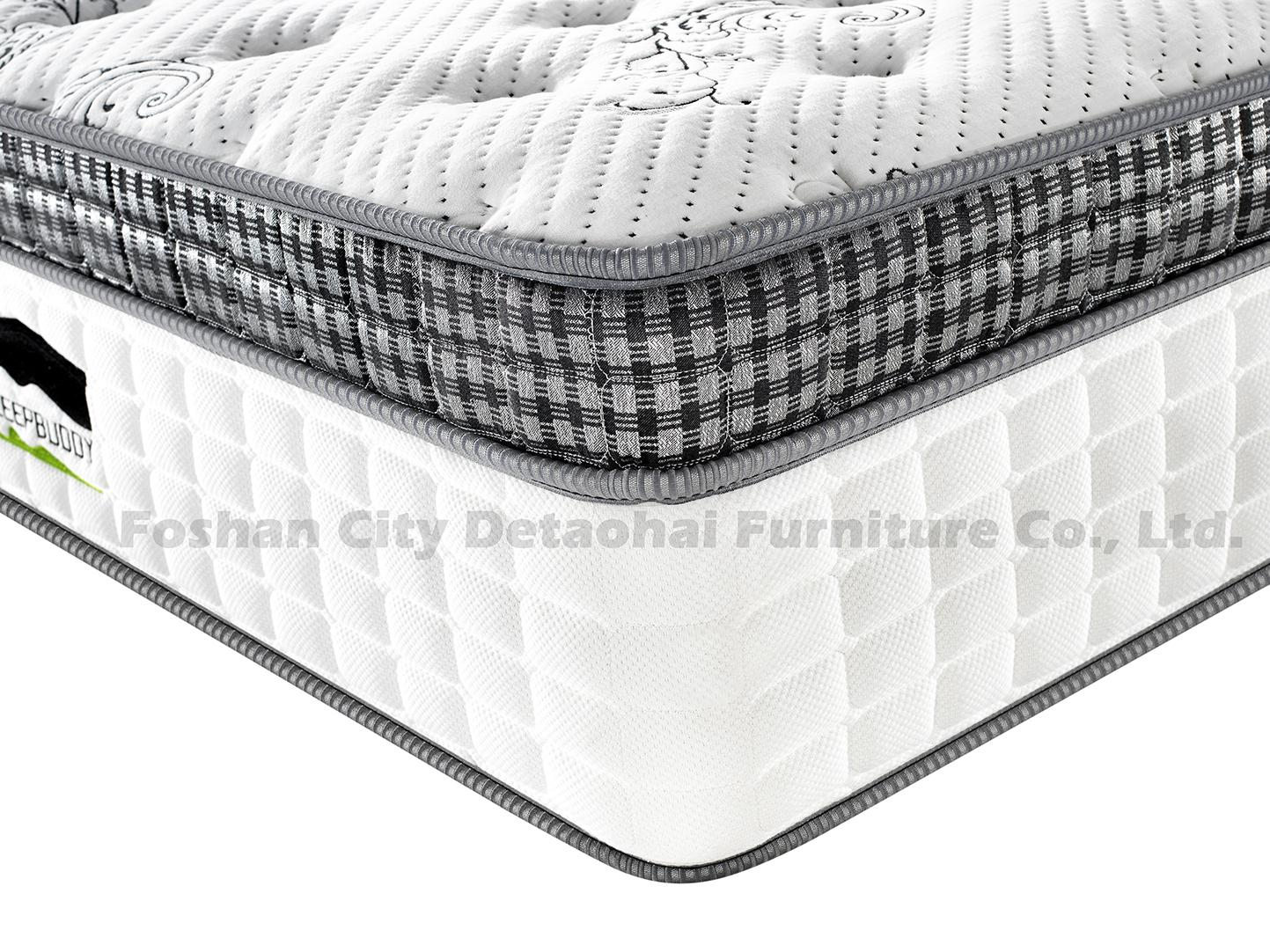 comfortable high-quality bedroom mattress with double pocket spring unit 3