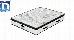 wholesales pocket spring memory foam mattress with Euro top
