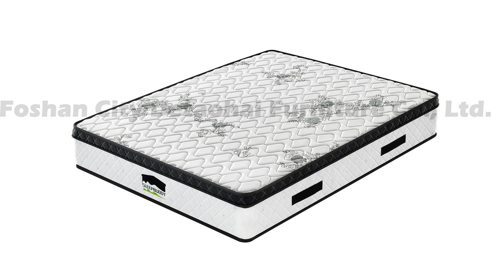 wholesales pocket spring memory foam mattress with Euro top 2