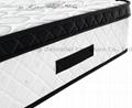 wholesales pocket spring memory foam mattress with Euro top 3