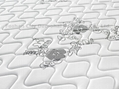 wholesales pocket spring memory foam mattress with Euro top 4