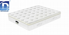 manufacturer sales pocket spring memory foam mattress with Euro top