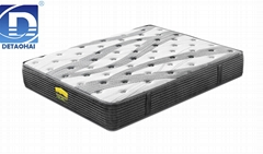 comfortable pocket spring memory foam mattress with pattern
