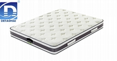 wholesales memory foam mattress with embroidered mark