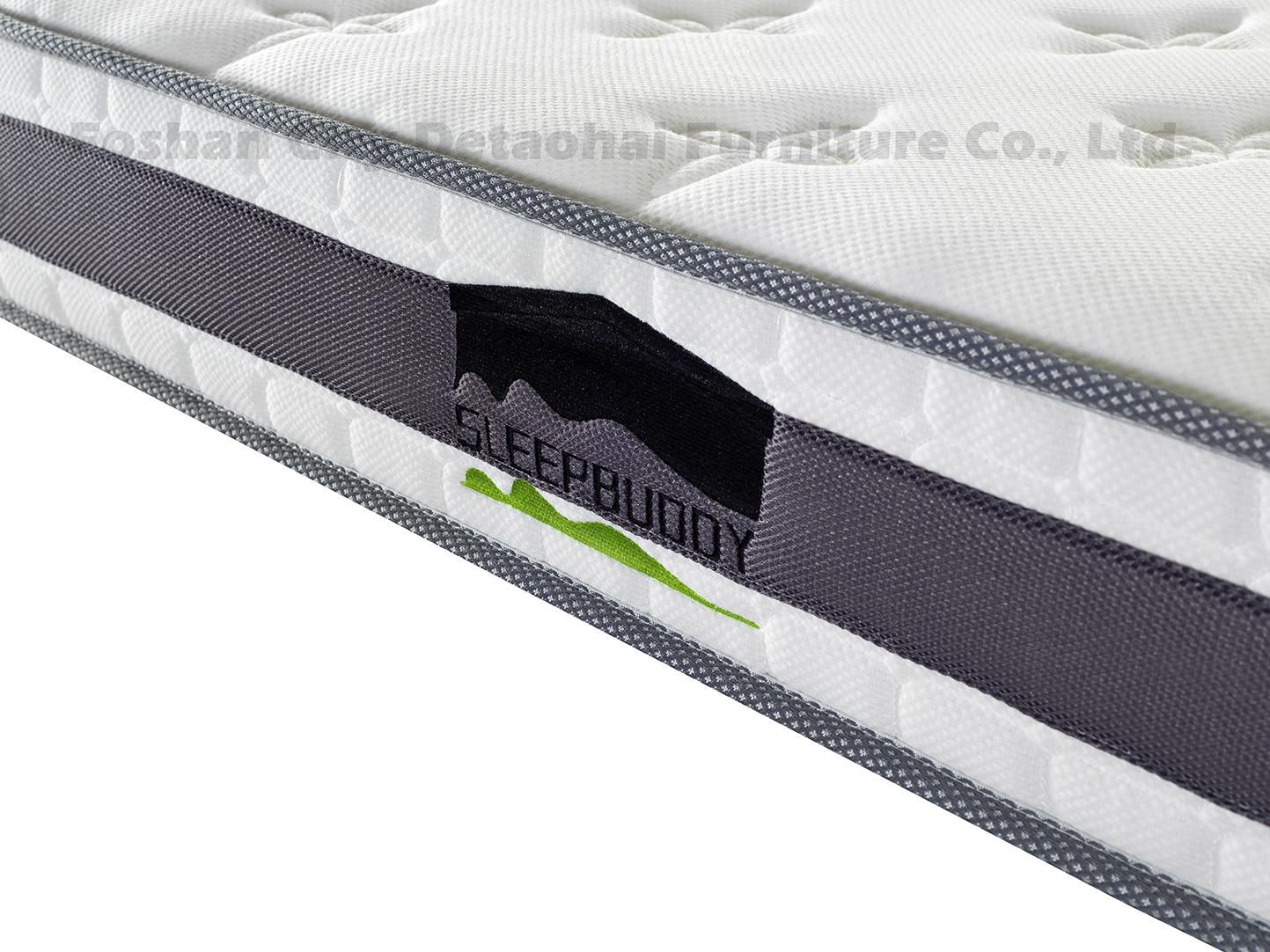 wholesales memory foam mattress with embroidered mark 2