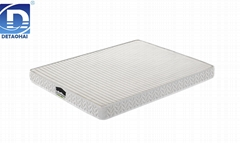 comfortable high-quality bedroom foam mattress with knitted Fabrics