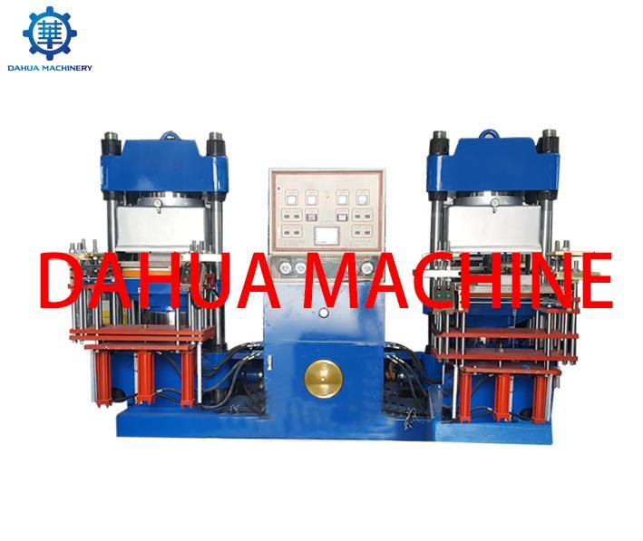 High Quality Vacuum Rubber Compression Moulding Press Machine 4