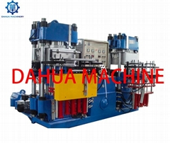 High-precision full-automatic front-style 4RT vacuum hydraulic molding machine