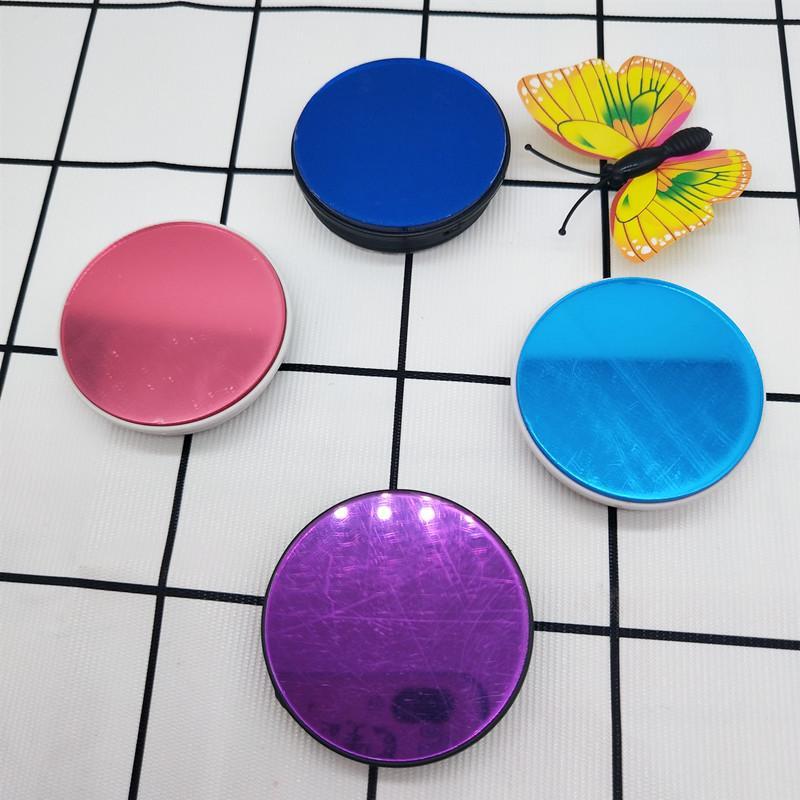 廠家直銷亞克力手機支架裝飾彩色鏡 2